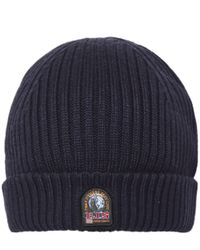 Parajumpers - Multicolor Wool Blend Ribbed Beanie Hat for Men - Lyst