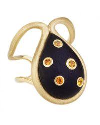 Ana Katarina | Blue Sapphire Ishq Ring | Lyst