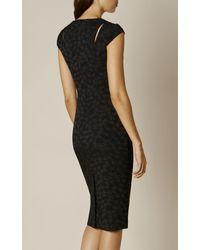 Karen Millen - Dz176 Sharp Tailored Texture J - Black - Lyst