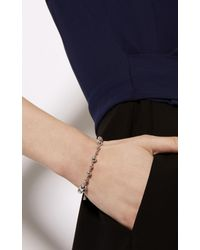 Karen Millen | Metallic Planet Single Bracelet - Silver Colour | Lyst