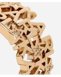 Karl Lagerfeld - Metallic Karl Star Ring - Lyst