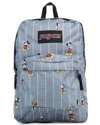 Jansport - Gray The Disney X Hide & Seek Superbreak Backpack - Lyst