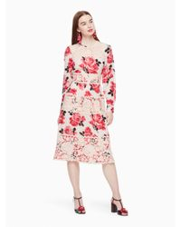 Kate Spade - Pink Rosa Lace Dress - Lyst