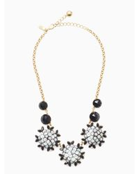 Kate Spade - Multicolor Be Bold Statement Necklace - Lyst