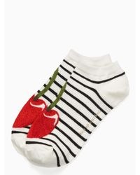 Kate Spade - Multicolor Cherry No Show Sock Set - Lyst
