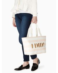 Kate Spade - Multicolor Wedding Belles I Do I Did Tote - Lyst