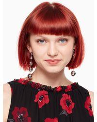 Kate Spade - Metallic Golden Girl Linear Statement Earrings - Lyst