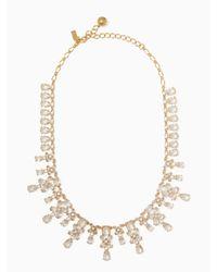 Kate Spade - Metallic Take A Shine Necklace - Lyst