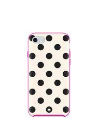 kate spade new york   Pink Le Pavillion Dot Iphone 7 Case   Lyst