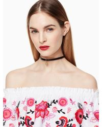 Kate Spade | Multicolor One In A Million Initial Choker | Lyst