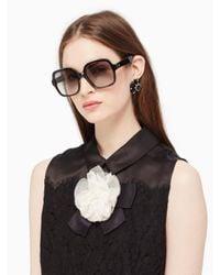 Kate Spade - Black Katelee Sunglasses - Lyst