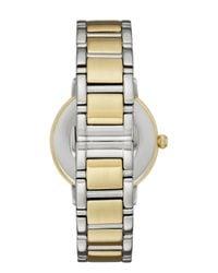 kate spade new york - Metallic Two-tone Scallop Gramercy Watch - Lyst