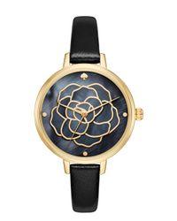 Kate Spade | Metallic Rose Dial Metro Watch | Lyst