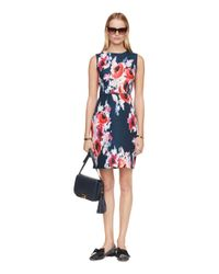 kate spade new york | Multicolor Hazy Floral Della Dress | Lyst