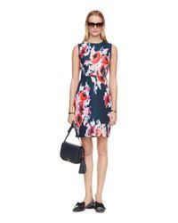 kate spade new york - Multicolor Hazy Floral Della Dress - Lyst