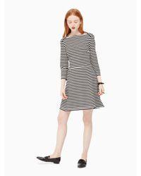 kate spade new york   Black Stripe Everyday Dress   Lyst