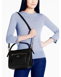 kate spade new york | Black Cobble Hill Small Harris | Lyst