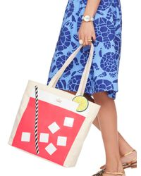 kate spade new york - Red Cedar Street Mini-Harmony Tote Bag - Lyst