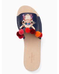 kate spade new york - Multicolor Idelphia Sandals - Lyst
