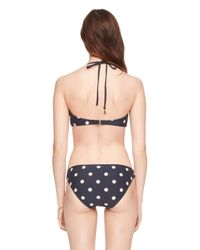 kate spade new york - Blue Bolsa Chica Halter Underwire Top - Lyst