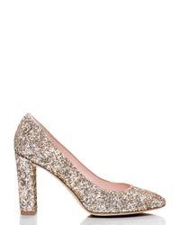 kate spade new york - Pink Dani Too Heels - Lyst