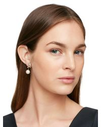 Kate Spade - Multicolor Dainty Sparklers Cluster Ear Jacket - Lyst