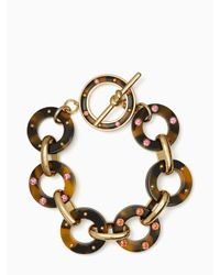 kate spade new york | Multicolor Out Of Her Shell Bracelet | Lyst