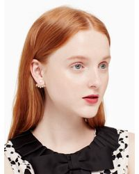 kate spade new york - Multicolor Chantilly Charm Ear Jackets - Lyst