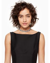 kate spade new york - Blue Twilight Sparkle Choker - Lyst