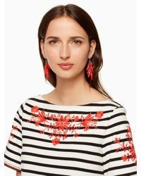 Kate Spade - Multicolor Haute Stuff Pepper Statement Earrings - Lyst
