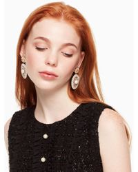 Kate Spade - Multicolor Luminous Leather Statement Earrings - Lyst