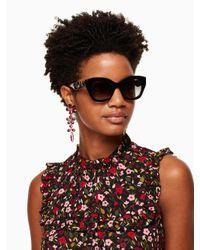 Kate Spade - Black Jalena Sunglasses - Lyst