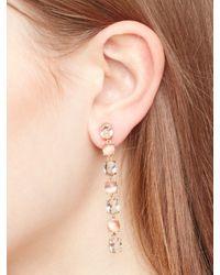kate spade new york - Pink Kate Spade Earrings Linear Earrings - Lyst