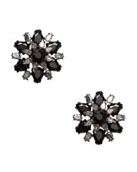 kate spade new york | Multicolor Trellis Blooms Giant Statement Studs | Lyst