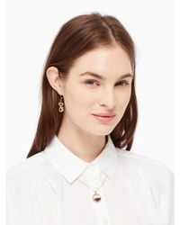 kate spade new york - Multicolor Shake Things Up Kick Up Your Heels Pendant - Lyst