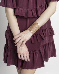 Kendra Scott - Metallic Jude Cuff Bracelet In Antique Silver - Lyst