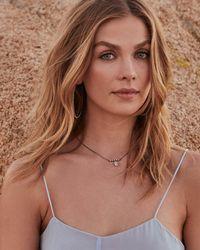 Kendra Scott - Metallic Fischer Pendant Necklace In Antique Silver - Lyst