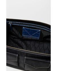 KENZO Black Duffle Bag for men