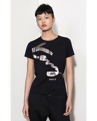 5a827333 Lyst - Kenzo Signature T-shirt in Black