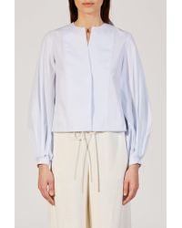 Khaite - Blue The Enya Top - Lyst