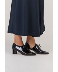 Clergerie - Black Suzanne Heeled Oxford - Lyst