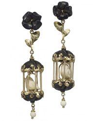 Of Rare Origin - Multicolor Aviary Classic Mini Drop Earrings - Lyst