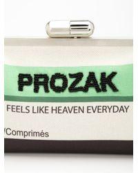 Sarah's Bag - Green Sarah's Bag 'prozak' Clutch - Lyst