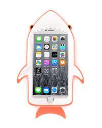 Stella McCartney - Orange Shark Iphone 6 Case - Lyst
