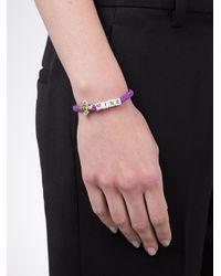 Venessa Arizaga | Purple Taco Night Bracelet | Lyst