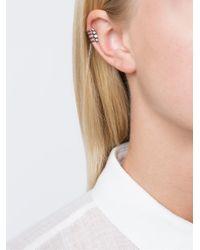 Elise Dray - Metallic Joyce Clip Earring - Lyst