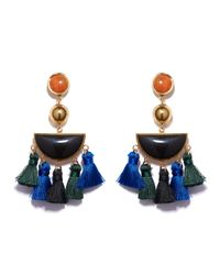 Lizzie Fortunato | Blue Fiesta Earrings | Lyst