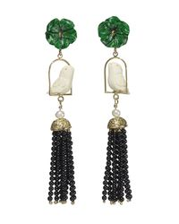 Of Rare Origin - Multicolor Black Swingers Earring - Lyst