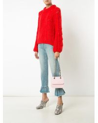 Mark Cross - Pink Francis Small Chain Flap Bag - Lyst