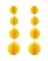 Rebecca de Ravenel | Les Bonbons Yellow Earrings | Lyst